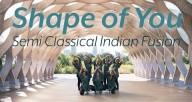 SHAPE OF YOU | Meher Dance | Semi Classical Indian Fusion | Indian Raga | Ed Shereen |Chicago