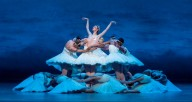 Joffrey dancer Victoria Jaiani in Christopher Wheeldon's Swan Lake, Photo by Cheryl Mann