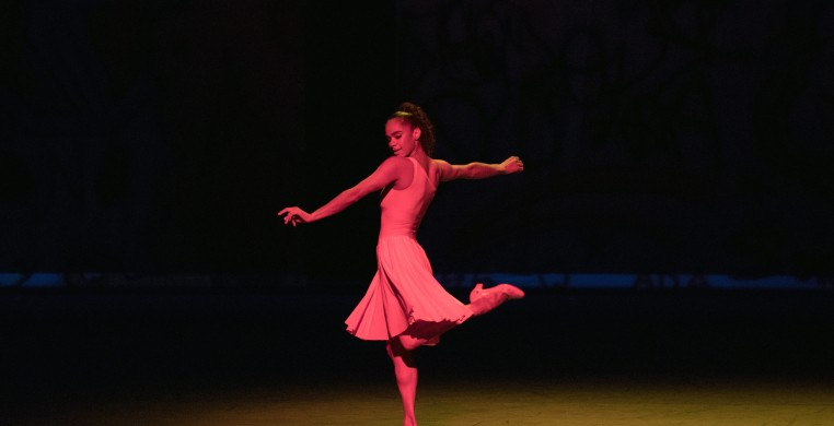 """Misty Copeland in """"Deuce Coupe,"""" photo by Rosalie O'Connor"""