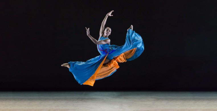 Ailey II's Khalia Campbell. Photo by Kyle Froman