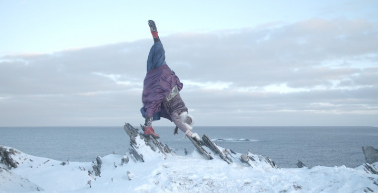 """Swiss dancer and choreographer Flavia Devonas Hoffmann, pictured, presents """"Human Habitat,"""" a short film set in the Actic and presented as part of the 8th In/Motion International Dance Film Festival."""