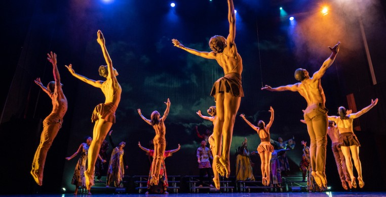 """Goshen"" (2019), by Deeply Rooted Dance, gospel artist Donald Lawrence and South African choreographer Tshediso Kabulu was one of the pieces on view at JOMBA! 2020. Author Felicia Holman reviewed a digital screening for the SCD fellowship. Photo: Ken Carl"