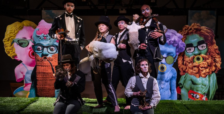 Cabinet of Curiosities managed to open their three week run, and are now postponing remaining performances to a later date, due to an abundance of caution around the covid-19 health crisis. Emma Elsmo shares her thoughts. (photo courtesy of the artists)