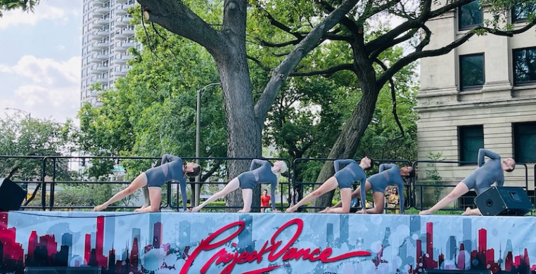 Project Dance made its Chicago debut Saturday, with a plethora of faith-inspired works. Photo courtesy of Identity Performing Arts