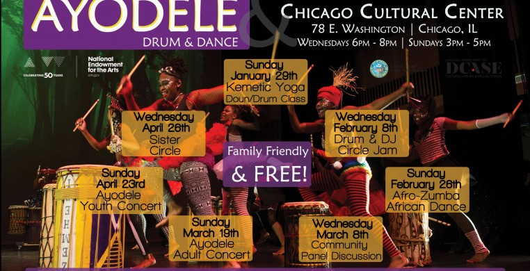 Ayodele at Chicago Cultural Center: ARC Residency