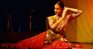 Dancing Krishna features Pallavi Raisurana, a renowned Kathak artist
