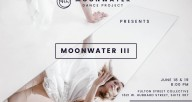 Poster for Moonwater III featuring a dancer looking in a mirror