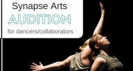 Synapse Audition for dancer/collaborators, photo by Matthew Gregory Hollis