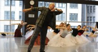 Yuri Possokhov in the studio, photo courtesy of the Joffrey Ballet