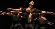 """Martha Graham Dance Company in Lar Lubovitch's """"The Legend of Ten."""" Photo by Kyle Flubacker"""