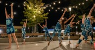 """Project Bound Dance in """"What's Left Over,"""" a new piece shown as part of Dance on the Deck Oct. 1. M. Reid Photo"""