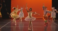 "A screenshot from ""Visions,"" an online, truncated version of Ruth Page Civic Ballet's annual ""Nutcracker"""