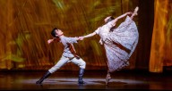 Yoshihisa Arai and Anais Bueno in Anna Karenina. Photography credit Cheryl Mann, courtesy of the Joffrey Ballet.