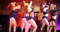 Guilty Pleasure Cabaret performing in New York. The company performs through Sunday at Stage 773. Photo by Amber Nicole